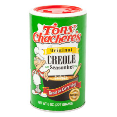 TONY CHACHERE'S CREOLE SEASONING 8 OZ SHAKER