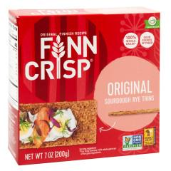 FINN CRISP BOX ORIGINAL CRISPBREAD 7OZ