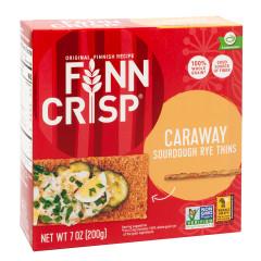 FINN CRISP CARAWAY THIN CRISPBREAD 7 OZ BOX