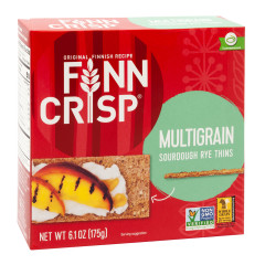 FINN CRISP MULTIGRAIN THIN CRISPBREAD 6.17 OZ BOX