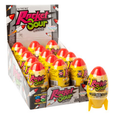 EXTREME ROCKET SOUR CANDIES 0.96 OZ