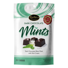 BARTON'S DARK CHOCOLATE MINT CREAMS PASSOVER 4.5 OZ POUCH