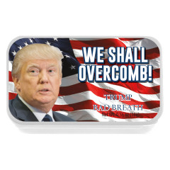 NYC SOUVENIR PEPPERMINT WE SHALL OVERCOMB 0.56 OZ SLYDER TIN
