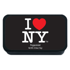 NYC SOUVENIR PEPPERMINT BLACK SLYDER 0.56 OZ TIN