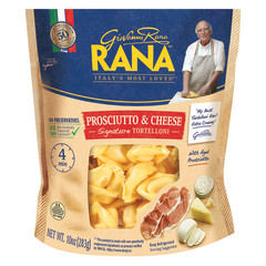 RANA PROSCIUTTO AND CHEESE TORTELLONI 10 OZ POUCH