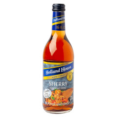 HOLLAND HOUSE 17% SHERRY COOKING WINE 16 OZ BOTTLE