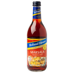 HOLLAND HOUSE 14% MARSALA COOKING WINE 16 OZ BOTTLE
