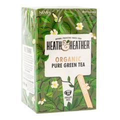 HEATH & HEATHER ORGANIC GREEN TEA 20 CT BOX