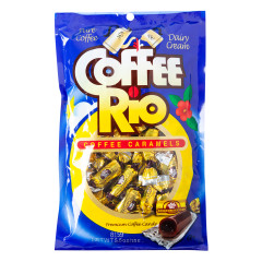 COFFEE RIO ORIGINAL CARAMELS 5.5 OZ PEG BAG *SF DC ONLY*