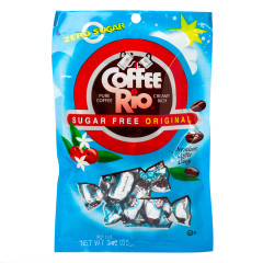 COFFEE RIO ORIGINAL SUGAR FREE PREMIUM COFFEE CANDY 3 OZ PEG BAG *SF DC ONLY*