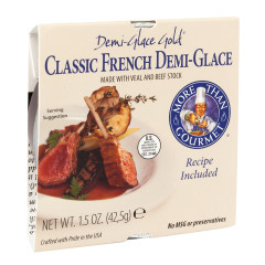 MORE THAN GOURMET DEMI GLACE GOLD VEAL AND BEEF STOCK 1.5 OZ BOX