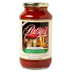 PATSY'S TOMATO BASIL SAUCE 24 OZ JAR