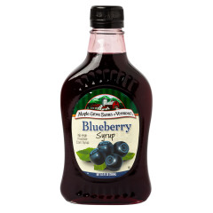 MAPLE GROVE - SYRUP - BLUEBERRY - 8.5OZ