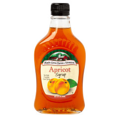 MAPLE GROVE FARMS OF VERMONT APRICOT SYRUP 8.5 OZ BOTTLE