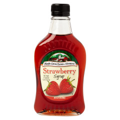 MAPLE GROVE - SYRUP - STRAWBERRY - 8.5OZ