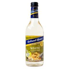 HOLLAND HOUSE 10% WHITE COOKING WINE 16 OZ BOTTLE
