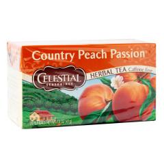 CELESTIAL SEASONINGS COUNTRY PEACH PASSION TEA 20 CT BOX