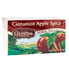 CELESTIAL SEASONINGS CINNAMON APPLE SPICE TEA 20 CT BOX