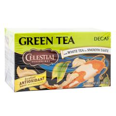 CELESTIAL SEASONINGS DECAF GREEN TEA 20 CT BOX