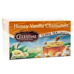CELESTIAL SEASONINGS HONEY VANILLA CHAMOMILE TEA 20 CT BOX