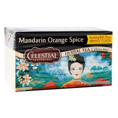 CELESTIAL SEASONINGS MANADRIN ORANGE SPICE TEA 20 CT BOX