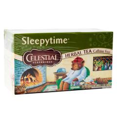 CELESTIAL SEASONINGS SLEEPYTIME HERBAL TEA 20 CT BOX