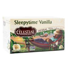CELESTIAL SEASONINGS SLEEPYTIME VANILLA TEA 20 CT BOX