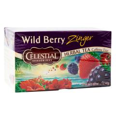 CELESTIAL SEASONINGS WILD BERRY ZINGER TEA 20 CT BOX