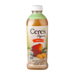 CERES ORGANIC MANGO JUICE 30 OZ BOTTLE