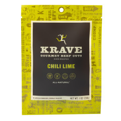 KRAVE CHILI LIME BEEF JERKY 1 OZ BAG