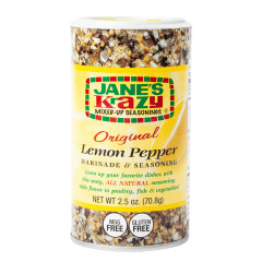 JANE'S KRAZY MIXED UP LEMON PEPPER 2.5 OZ SHAKER
