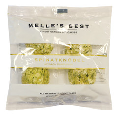 MELLE'S BEST SPINACH DUMPLINGS 10.6 OZ