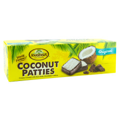 ANASTASIA ORIGINAL COCONUT PATTIES 16 OZ BOX *FL DC ONLY*