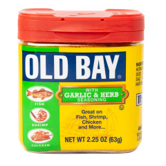 OLD BAY GARLIC & HERB SEASONING 2.25 OZ SHAKER