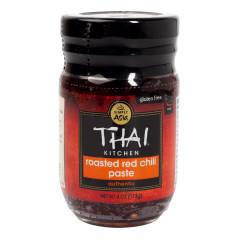 THAI KITCHEN ROASTED RED CHILI PASTE 4 OZ JAR
