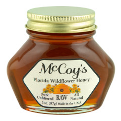 MCCOY'S HONEY WILDFLOWER 3 OZ *FL DC ONLY*