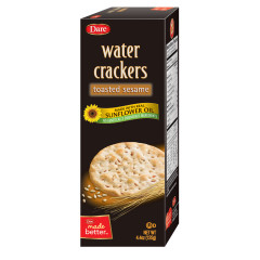 DARE SESAME WATER CRACKER 4.4 OZ BOX