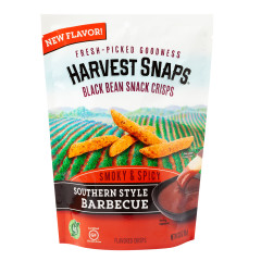 CALBEE HARVEST SNAPS SOUTHERN STYLE BBQ 3 OZ POUCH