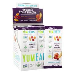 YUMEARTH ORGANIC FRUIT SNACKS 2 OZ