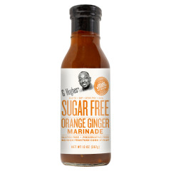 G HUGHES SUGAR FREE ORANGE GINGER MARINADE 13 OZ BOTTLE