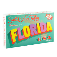 FLORIDA GREETINGS TAFFY 14 OZ GIFT BOX