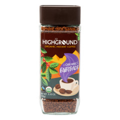 HIGHGROUND REGULAR INSTANT COFFEE 3.53 OZ SHAKER