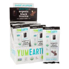 YUMEARTH ORGANIC LICORICE BLACK 2 OZ