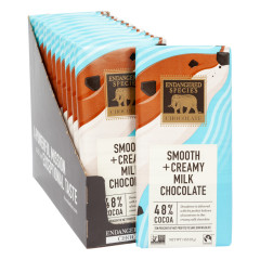 ENDANGERED SPECIES MILK CHOCOLATE 3 OZ BAR