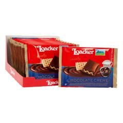 LOACKER COCOA CREME AND WAFER MILK CHOCOLATE 1.94 OZ BAR