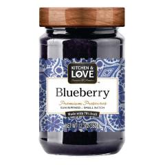 KITCHEN & LOVE BLUEBERRY PRESERVES 12.3 OZ JAR