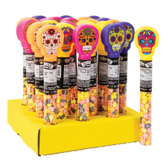 DAY OF THE DEAD WITH CANDY SKULLS 1.7 OZ TUBE