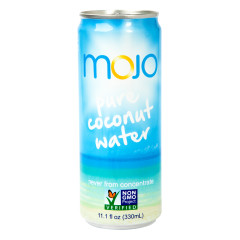 MOJO PURE COCONUT WATER 11.1 OZ CAN