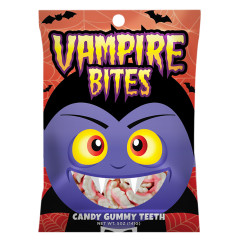 AMUSEMINTS VAMPIRE BITES 5 OZ PEG BAG