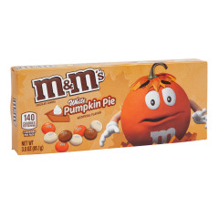 M&M'S WHITE CHOCOLATE PUMPKIN PIE THEATER BOX